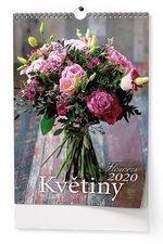 Nástěnný kalendář 2019 - Květiny - A3
