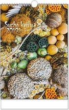 Nástěnný kalendář 2019 - Suché květy - A3
