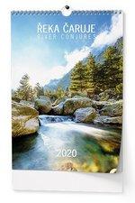 Nástěnný kalendář 2019 - Řeka čaruje - A3