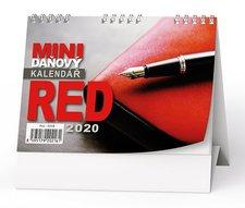 Stolní kalendář 2019 - pracovní - Red - mini - daňový