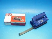 Děrovačka SAX 128 modrá