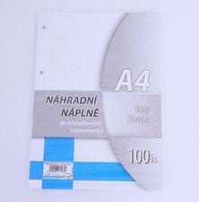 Náhradní vložka A4 100 listů  čistá