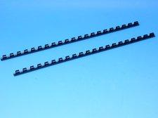Hřeben pro kroužkovou vazbu 6 mm černý