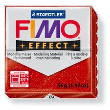 FIMO efekt červená 56g 8020-202
