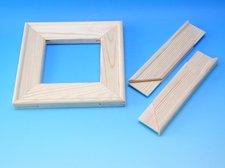 Blindrám 25 cm dřevěný