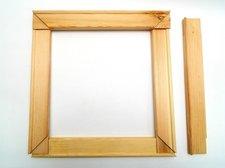 Blindrám 75 cm dřevěný
