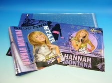 Obal  A4  holograf Hannah Montana