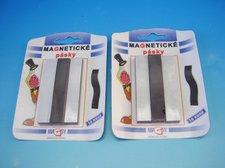 Magnetické pásky 1,5 x 8 cm/10 ks blistr