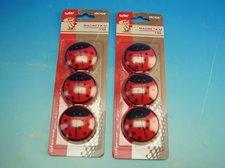Magnety Berušky 50 mm, 3 ks