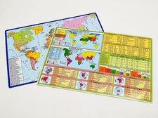 Tabulka Politická mapa světa A4