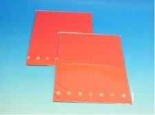 Barevný karton červený 160g  10ks