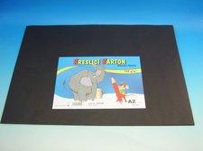 Kreslící karton A2 černý 180 g