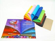 Blok barevných papírů A3 300 gr/20 listů