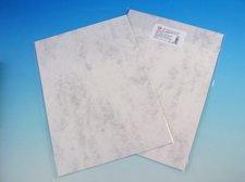 Kreativní papír MRAMOR bílý