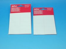 Etikety APLI 19x40mm bílé
