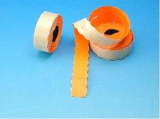 Cenové etikety 25x16 oranžové CONTACT