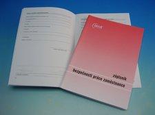 Zápisník bezpečnosti práce A5