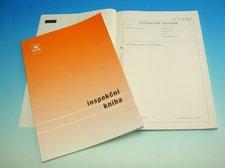 Inspekční kniha A4