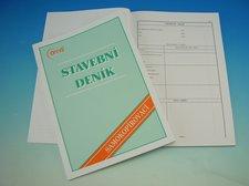 Stavební deník A4  NCR