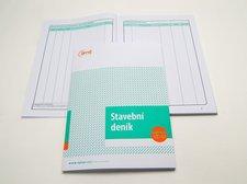 Stavební deník  A4 propis 3x40+8 listů /OP1278/