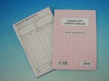 Dodací list, daňový doklad, A5, NCR