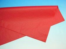 Papír hedvábný červený 50 x 70 cm, 19 g, arch