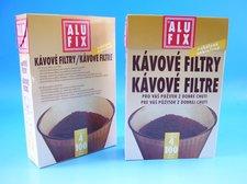 Filtry č. 4 kávové 100 ks ALUFIX