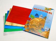 Folie reliefní 18,5x29,5cm, 5 listů, různé barvy, 505