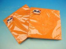 Ubrousky Maki Slco Oranžové, 33 x 33