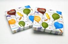 Ubrousky Párty balonky 33 x 33, 20 ks