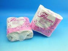 Toaletní papír FLOVERS/4 ks 400 útržků