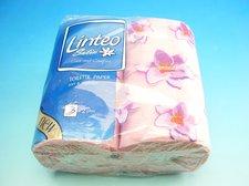 Papír toaletní LINTEO SATIN růžový 200ú.