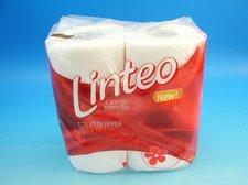 Toaletní papír LINTEO Classic bílý, 2-vrstvý