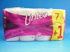 Toaletní papír LINTEO CLASSIC 7 + 1, 2-vrstvý