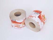 Papír toaletní Flowers 400ú, 1 vrstvý