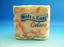 Toaletní papír Soft a Easy 180 út./4 oranž.