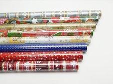 Vánoční papír BA role 5m/70 cm mix
