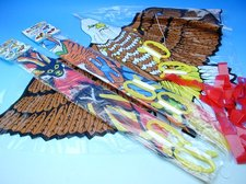 Drak nylonový 72 x 72 cm