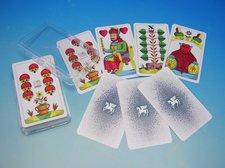 Karty Mariáš jednohlavý Plast