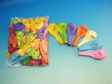 Balónek nafukovací kulatý s potiskem SAFARI