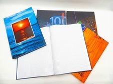 Kniha záznamní A4 čtvereček 200l /CL 54205/