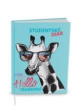 Baloušek  Týdenní diář 2020/2021  Student  V8  lamino  kapesní  Žirafa