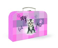 Karton P+P Lamino kufřík kočka