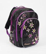 Karton P+P školní batoh Ergonomic FLOWERS 3-201