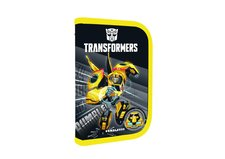Karton P+P Penál 1 patrový s chlopní, vybavený - Transformers
