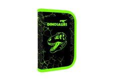Karton P+P Penál 1patrový 2 klopy prázdný Premium Dinosaurus