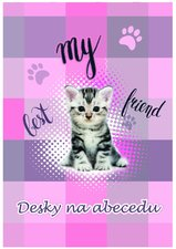 Karton P+P Desky na ABC kočka