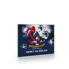 Karton P+P Desky na číslice Spiderman