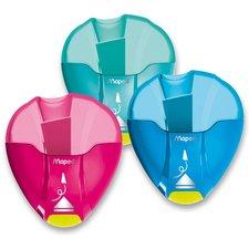 Maped Ořezávátko I-Gloo Eject - s odpadní nádobou - 1 otvor, mix barev