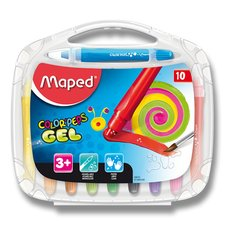 Maped Gelové pastely Color'Peps Gel - 10 barev